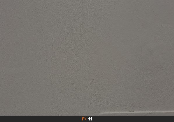 Vignettatura f/11 Zeiss Milvus 85mm