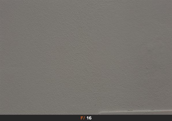 Vignettatura f/16 Zeiss Milvus 85mm