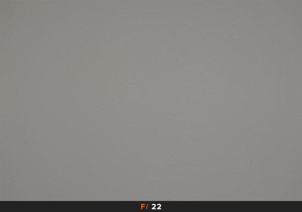 Vignettatura f22 Fuji 18-135mm