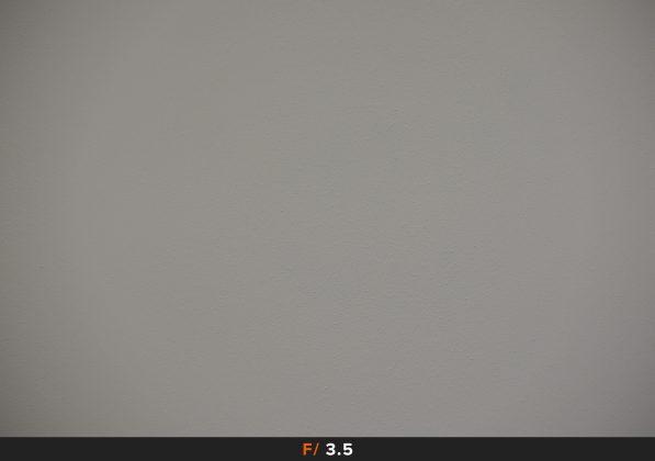 Vignettatura f3.5 Fuji 18-135mm