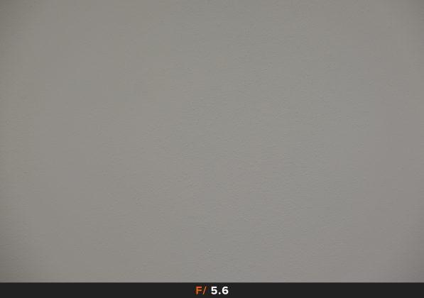 Vignettatura f5.6 Fuji 18-135mm
