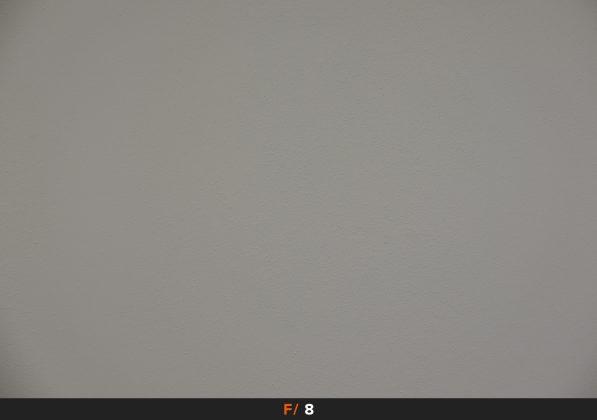 Vignettatura f8 Fuji 18-135mm