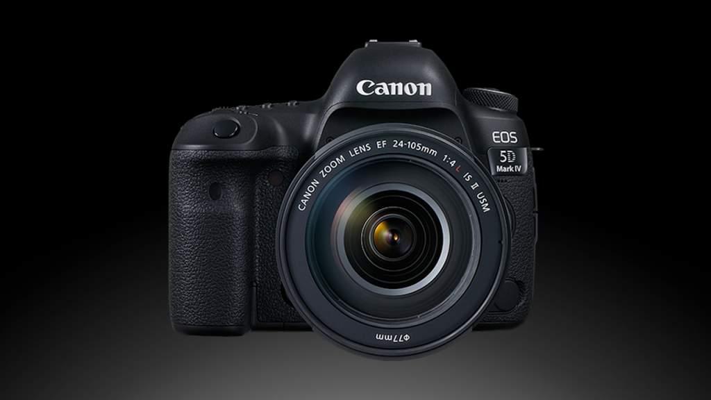 Canon Eos 5D Mark IV Dettaglio Frontale