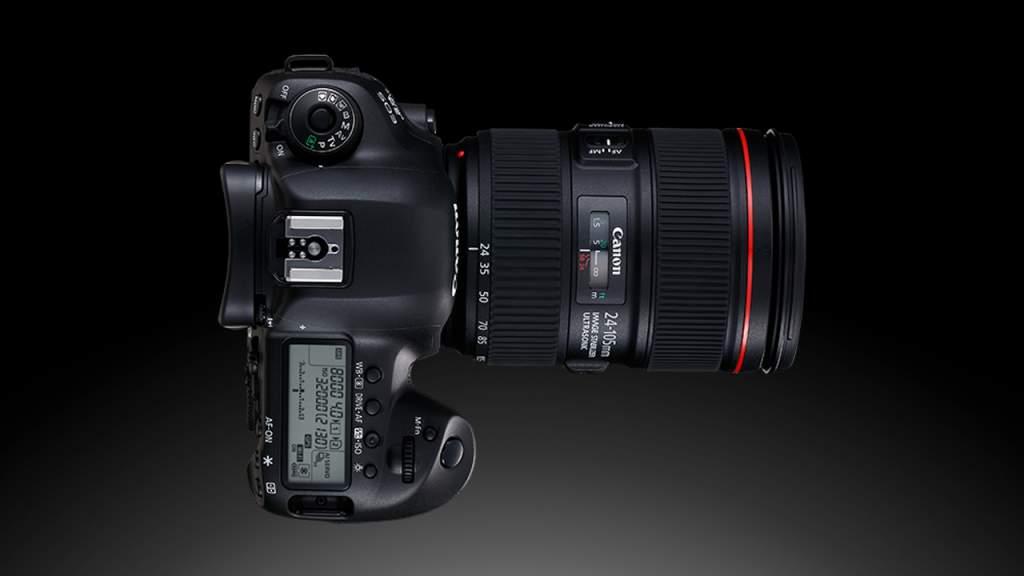 Canon Eos 5D Mark IV Dettaglio Superiore