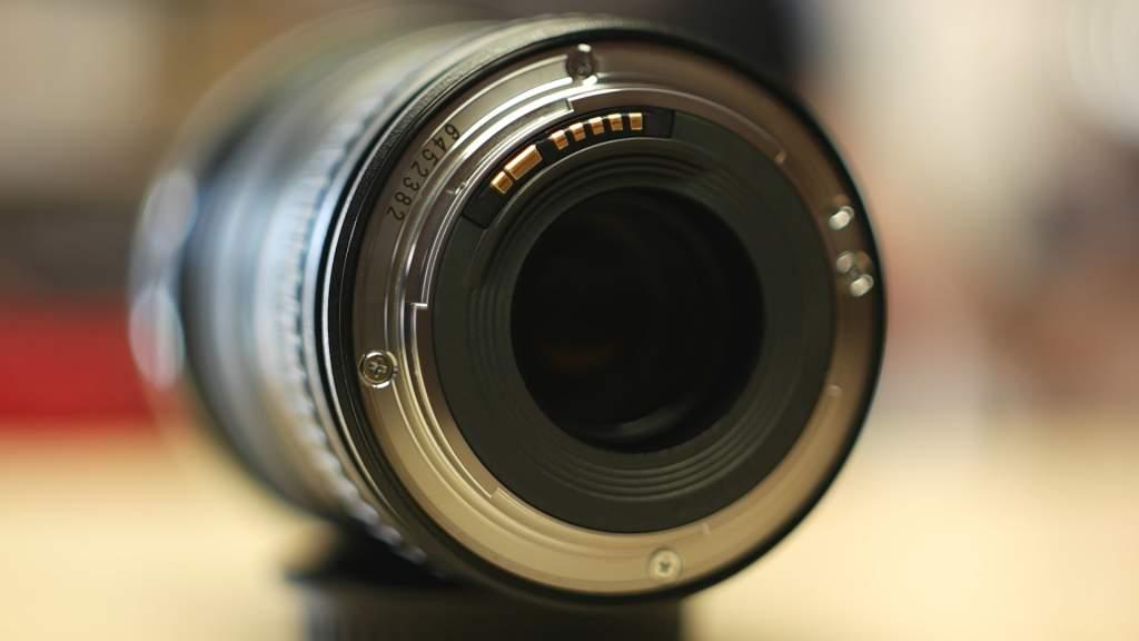 Dettaglio Baionetta Canon 16-35mm