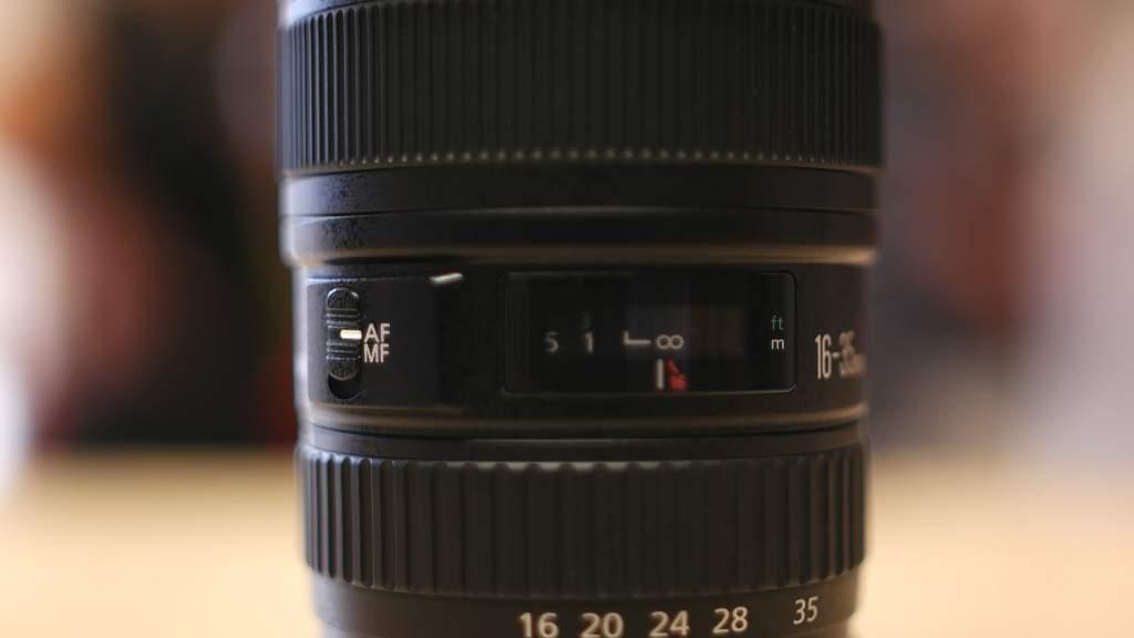 Dettaglio Ghiere Canon 16-35mm
