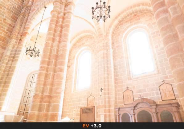 Esposizione 1 HDR Interno chiesa