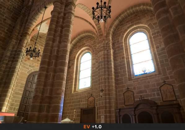 Esposizione 3 HDR Interno chiesa