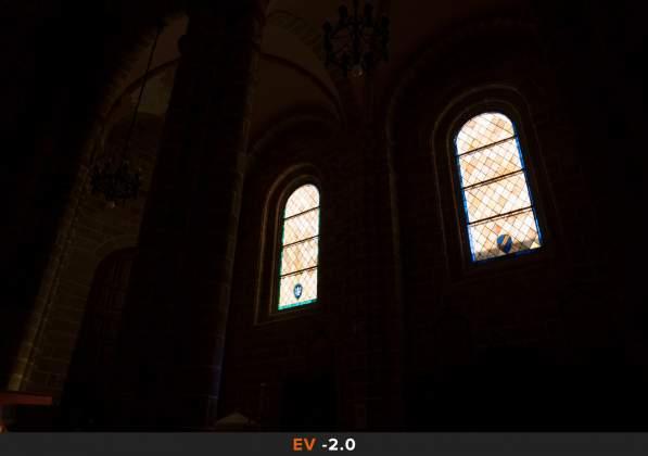 Esposizione 6 HDR Interno chiesa