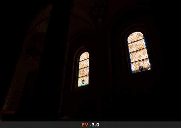 Esposizione 7 HDR Interno chiesa