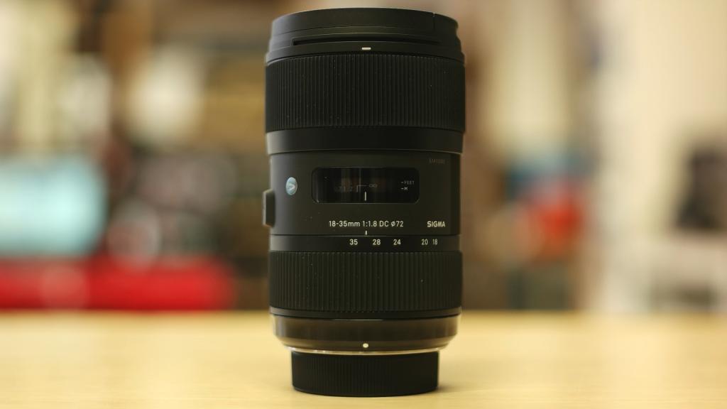 Vista generale Sigma 18-35mm