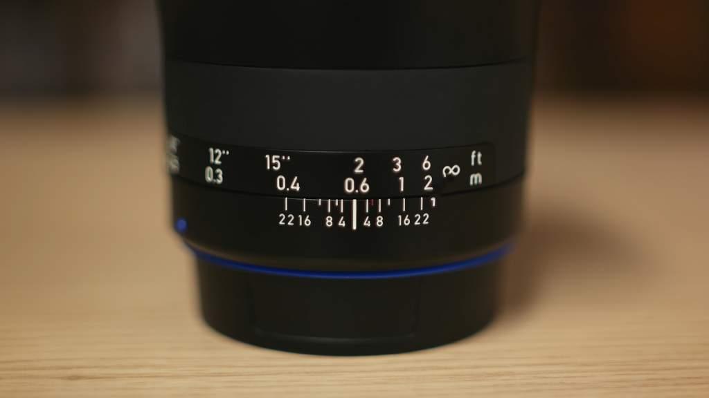 Ghiera Zeiss Milvus 21mm