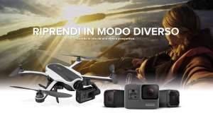 GoPro - Annunciate Hero 5 Black, Sessions ed il Nuovo Drone Karma