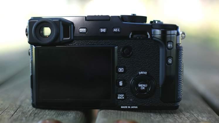 Interfaccia fujifilm x-pro2
