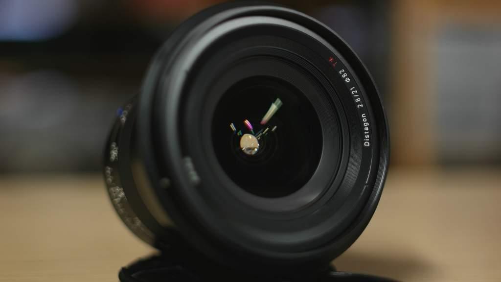 Lente frontale Zeiss Milvus 21mm