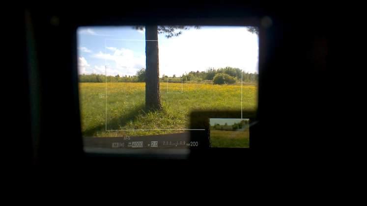 Mirino ibrido fujifilm x-pro2