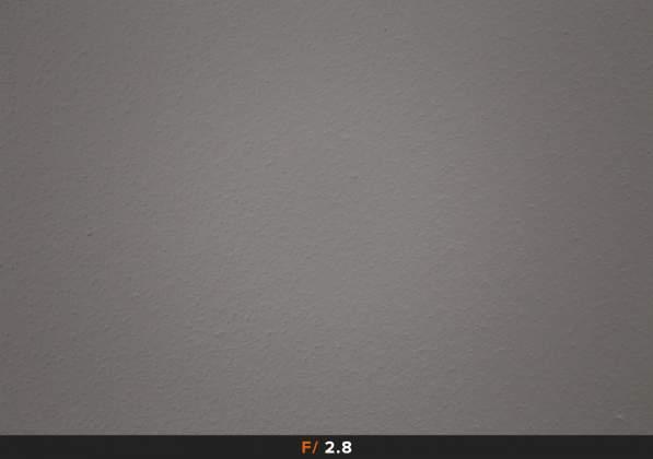 Vignettatura f2.8 Canon 100mm Macro
