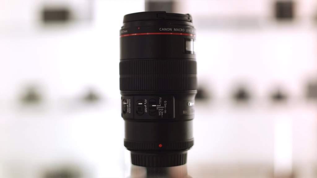 Vista Generale Canon 100mm Macro