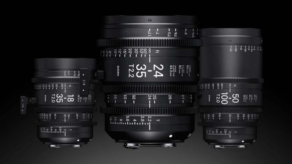 Zoom Sigma Cine Lenses