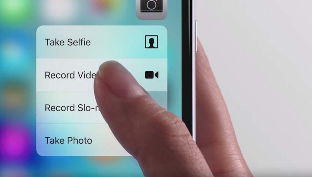 Apple iPhone 7 e le Funzioni 3D Touch del Centro di Controllo