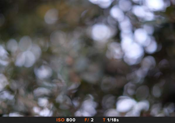 Bokeh 5 FujiFilm 35mm f2
