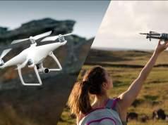 DJI Mavic Pro vs Phantom 4 - qual è il Drone Migliore?