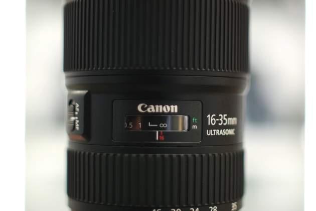 Finestra distanze focus Canon 16-35mm III