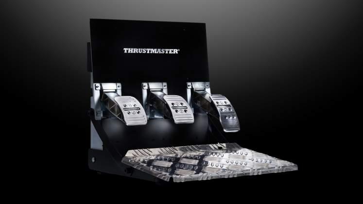 Pedaliera thrustmaster t3papro sollevata