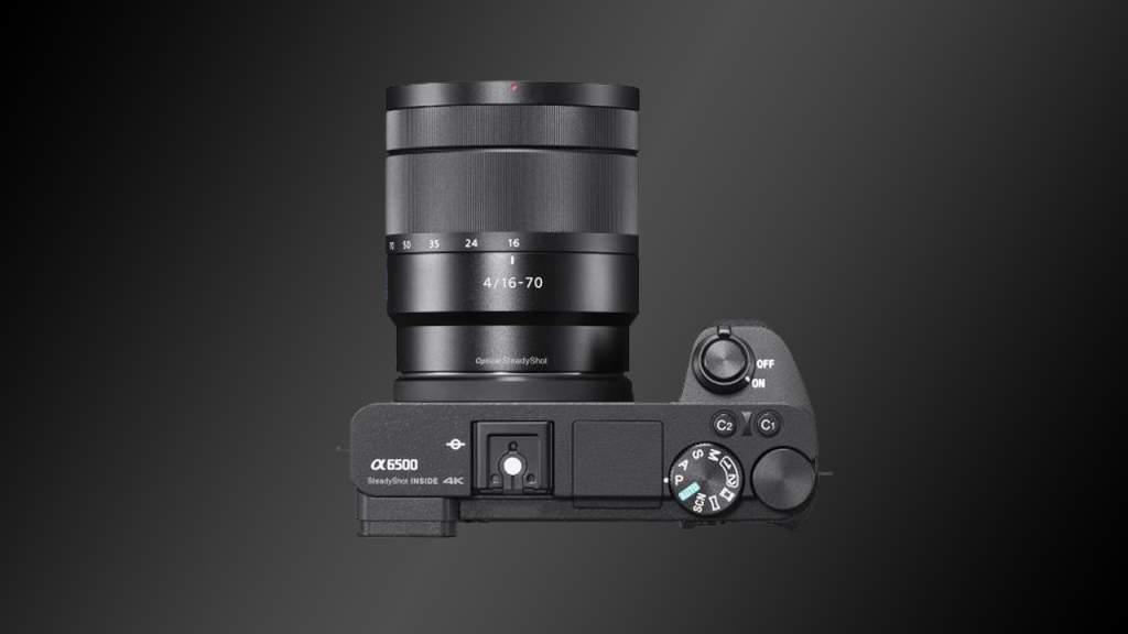 Sony a6500 Sopra