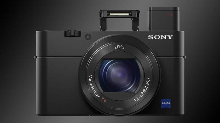 Sony RX100 Mk V fronte 2