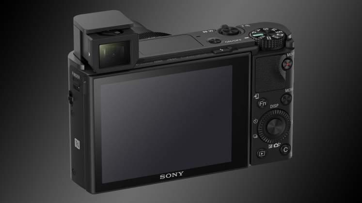 Sony RX100 Mk V interfaccia