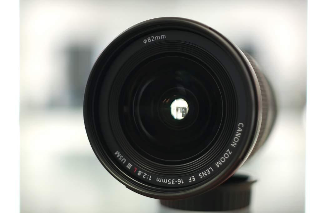 Vista frontale Canon 16-35mm III