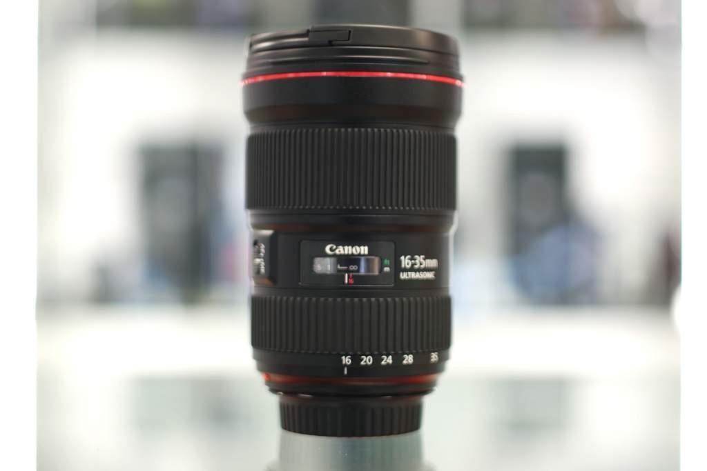 Vista generale Canon 16-35mm III