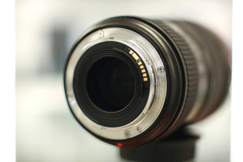 Vista posteriore Canon 16-35mm III