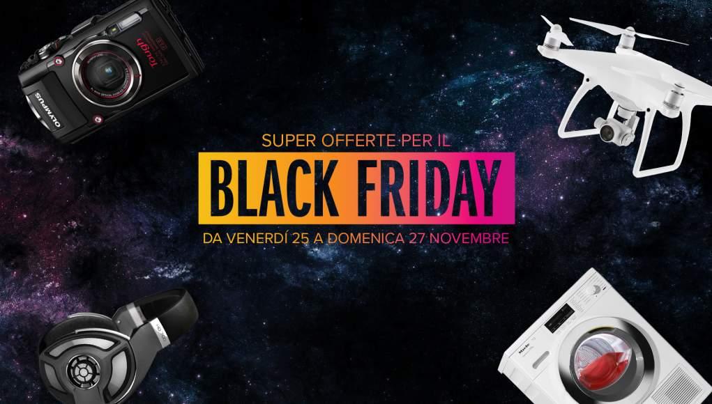 Black Friday - Tante Offerte su Droni, Fotografia e Altro Ancora