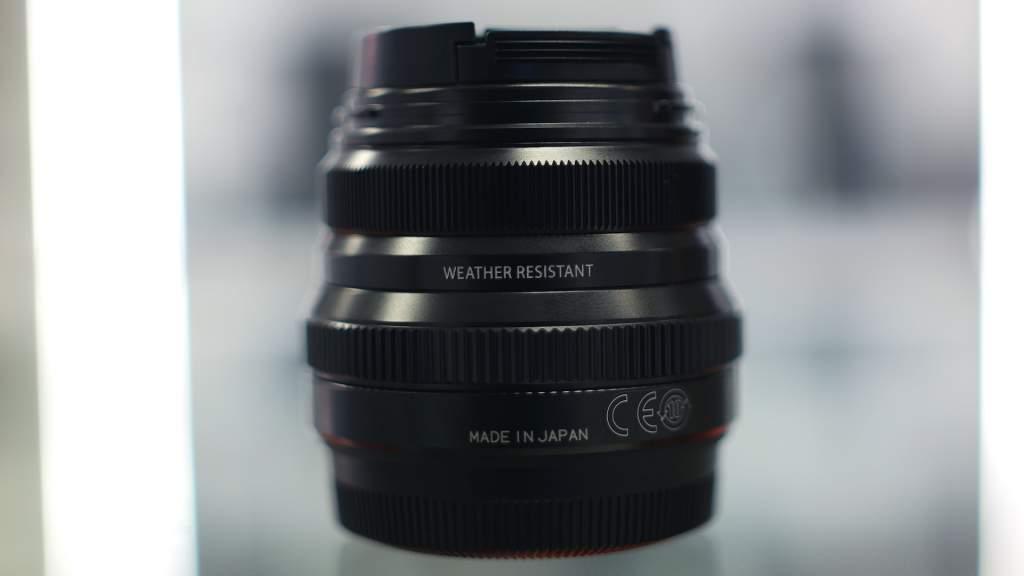 Dettaglio Wather Resistant Fuji 35mm f2