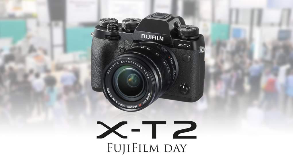 FujiFilm Day - Sabato 19 Novembre vi Aspetta la Fuji X-T2!