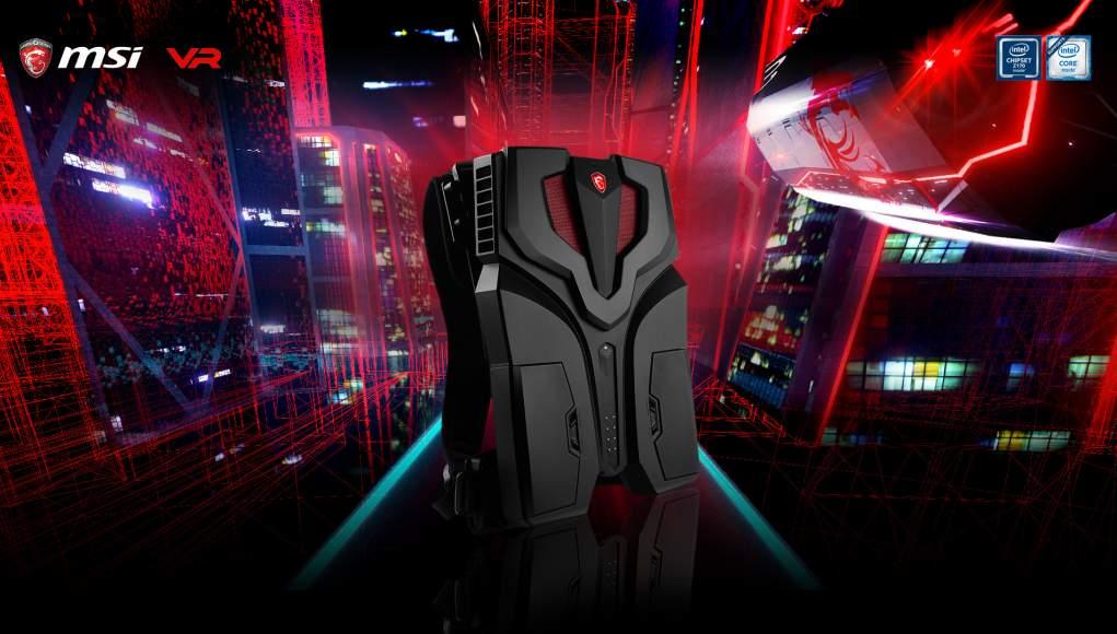 MSI VR One - in Catalogo il Nuovo Zaino per la Realtà Virtuale