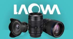 Obiettivi Laowa - Trovate tutta la Linea nel nostro Catalogo