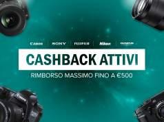 Ollo - Cashback fino a 500€ su Fotocamere, Obiettivi e Flash