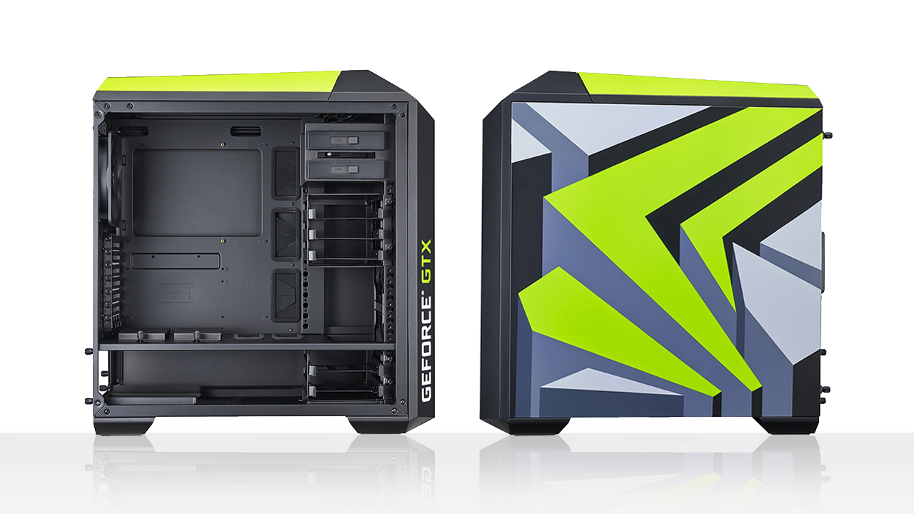 Panoramica Cooler Master MasterCase Pro 5 Nvidia Edition