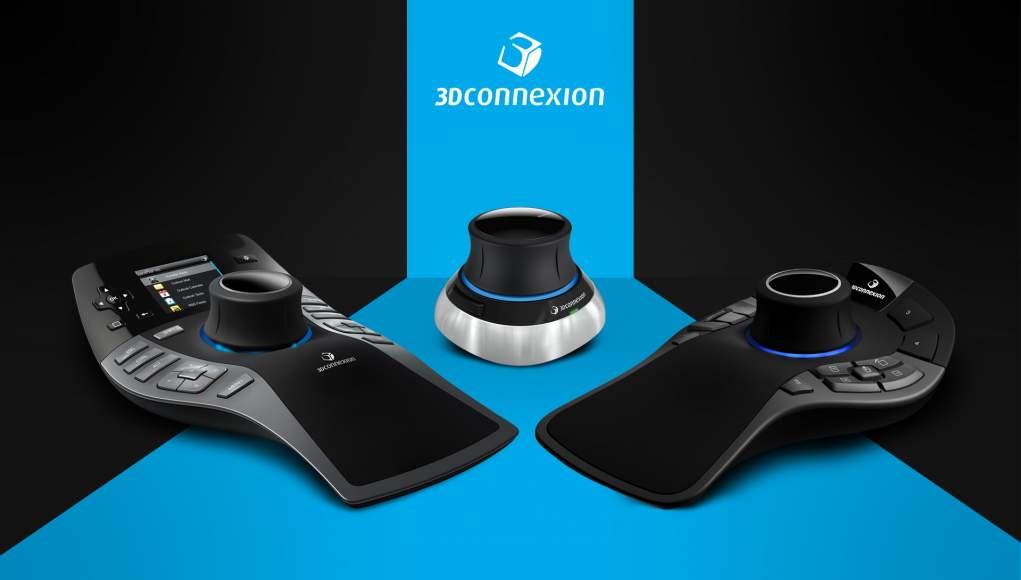3DConnexion tutto il Necessario per i Professionisti del Cad 3D