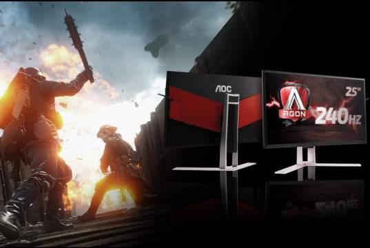 "Aoc Agon FreeSync 25"" - Nuovo Monitor Gaming 240Hz"