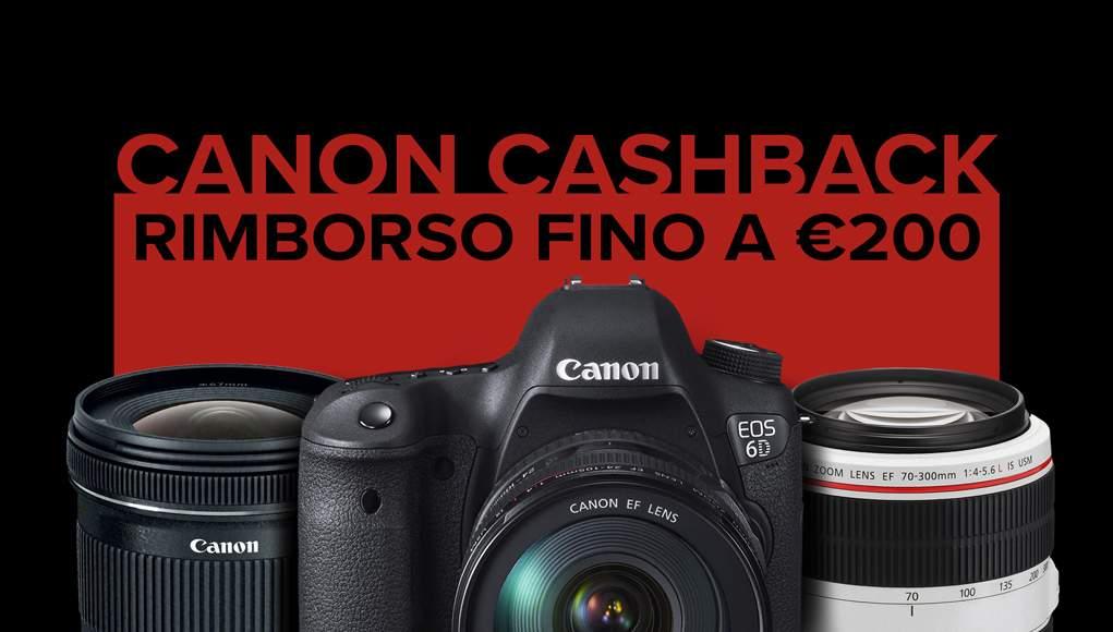 Canon CashBack in Scadenza. Ultimi Giorni, Affrettatevi!
