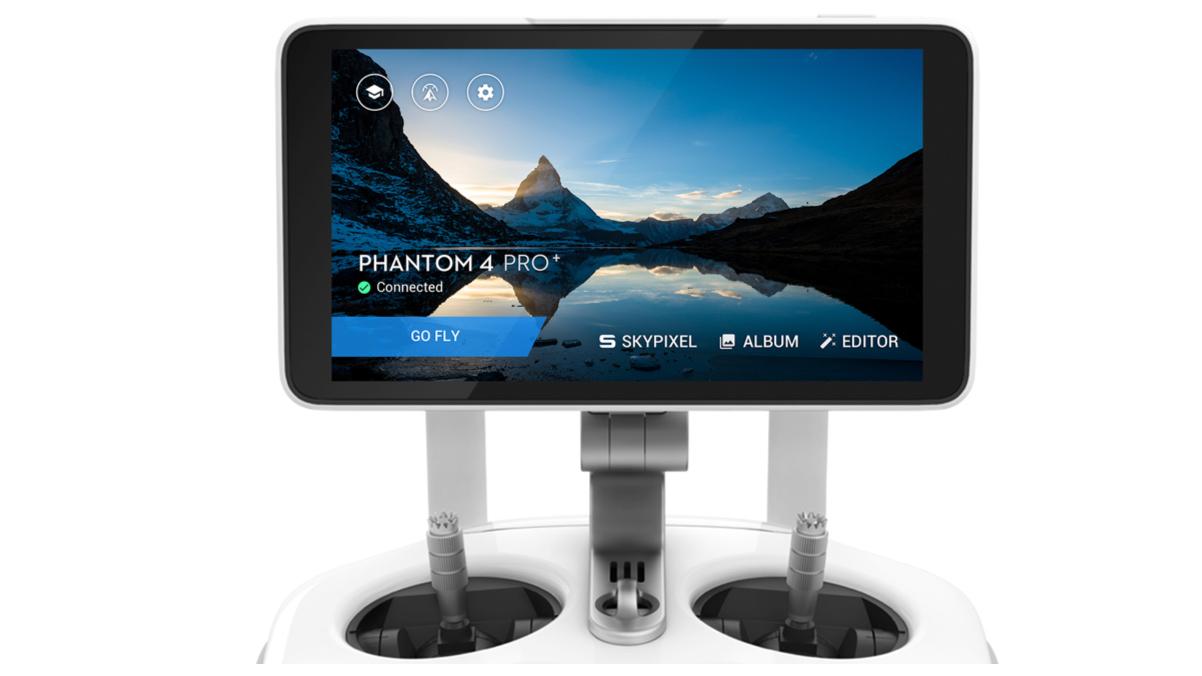 Dettaglio Controller Phantom 4 Pro Plus