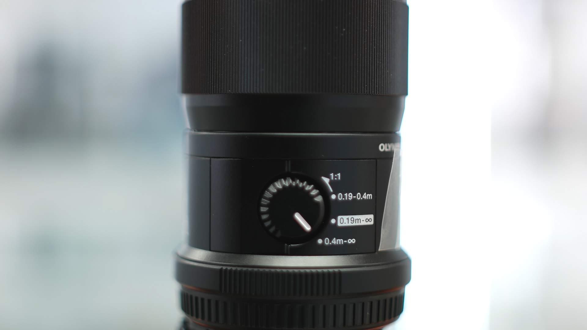 Switch Olympus 60mm f2.8