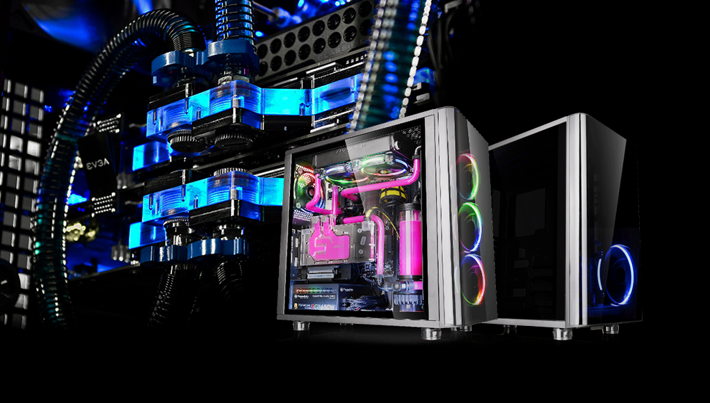 Thermaltake View 31 TG - case mid tower in vetro temprato