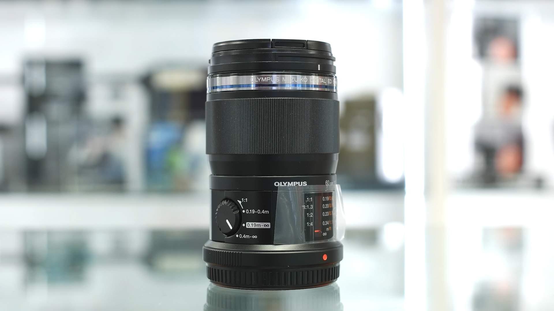 Vista generale Olympus 60mm f2.8