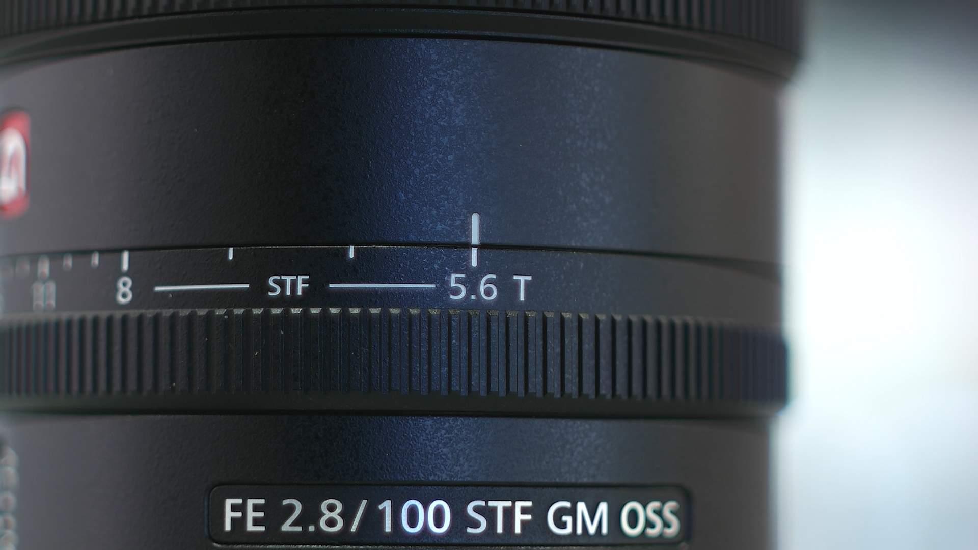 Dettaglio apertura massima Sony 100mm f/2.8 STF G Master