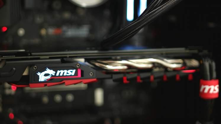 Dettaglio Scheda Video Ollo Gaming G3 MSI